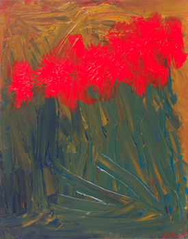 Red Flowers (16x20)